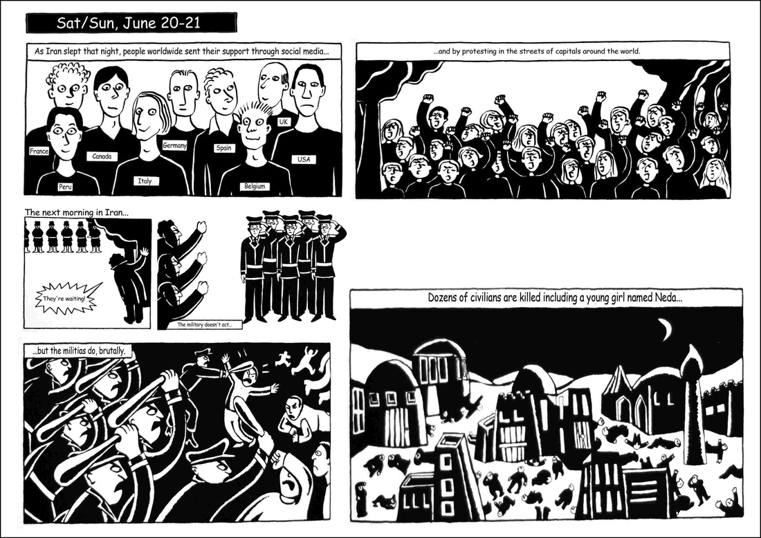 Analysis On Graphic Novel Persepolis By Marjane Satrapi Ge2409 Words And Images